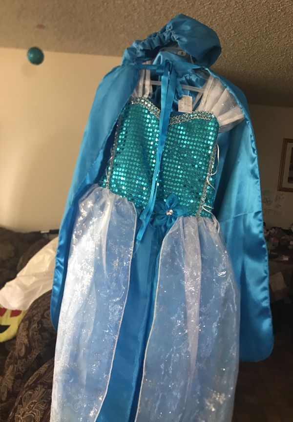 Elsa from frozen costume dress size 8 original