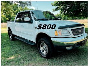 🟢 $8OO Up for sale 2002 Ford F-150 XLT PERFECT 4X4 Works🟢 for Sale in Washington, DC