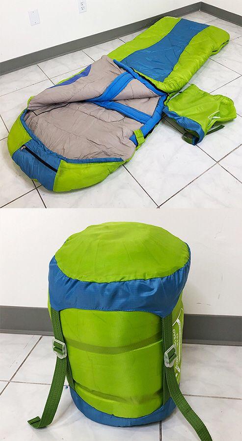 New in box $15 Camping Sleeping Bag Waterproof Indoor & Outdoor Hiking Lightweight w/ Portable Bag