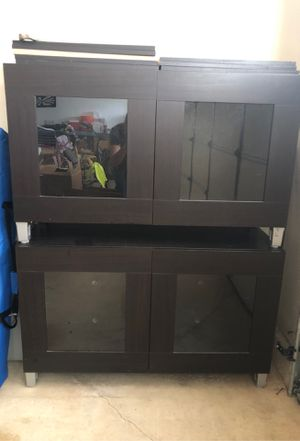 Cabinets with shelves ..two sets go side by side for Sale in Trabuco Canyon, CA