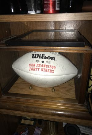 San Francisco 49ers 1994 team signed football for Sale in Pleasant Hill, CA