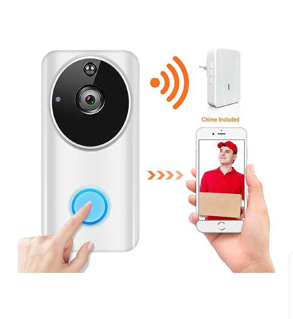 Doorbell Security Camera (White)