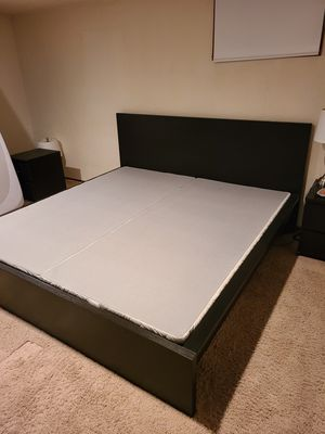 King Bed Frame and Mattress Stand for Sale in Seattle, WA