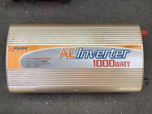 Wagon 1000w inverter - $50 for Sale in Seattle, WA