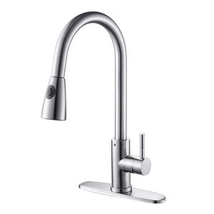 Brushed Nickel Pull out Stainless Steel Kitchen Sink Faucets with Pull down Sprayer SPECIAL PRICE for Sale in undefined