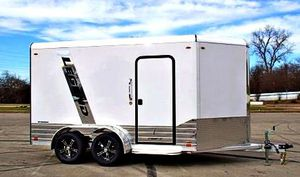 💲 1️⃣0️⃣0️⃣0️⃣ firm price!! e🇳c🇱o🇸e🇩 🇨a🇷g🇴 🇹r🇦i🇱er hitch type bumper pull for Sale in New York, NY