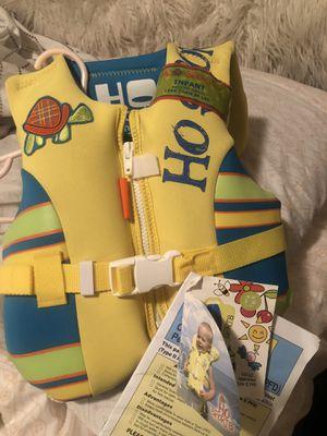 Infant life saver vest for Sale in Marble Falls, TX
