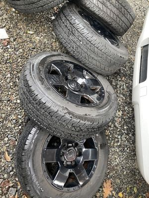 Fj cruiser Toyota Tacoma wheels and tires for Sale in Renton, WA