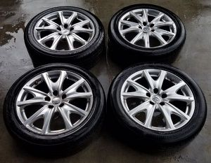 """2009-2015 INFINITI G37 SPORT 18""""INCH OEM WHEELS WITH TIRES SET for Sale in Fort Lauderdale, FL"""