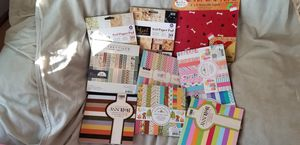 10 6 x 6 Scrapbook Pads for Sale in Highland, IL