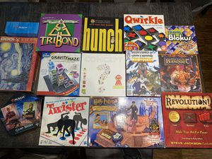 14 Amazing Board Games! Harry Potter, Magic the Gathering, Sentinels of the Multiverse, and MORE! for Sale in Jurupa Valley, CA