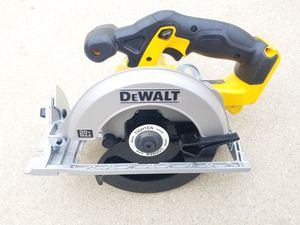 20 V DeWalt circular Saw Brand NEW Tool only for Sale in Bakersfield, CA