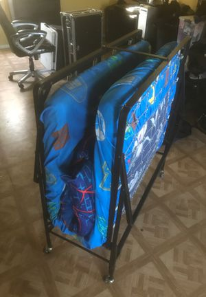 Twin size bed with Frame. (With spring) for Sale in Long Beach, CA