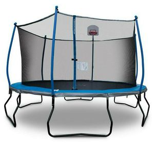 New trampoline 15ft sealed box with safety netting inclosure complete combo with basketball 🏀 hoop for Sale in Goodyear, AZ
