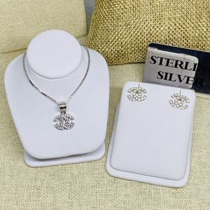 925 Sterling Silver Jewelry Set earrings Necklace for Sale in Carson, CA