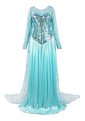 Women's Cosplay - Elsa / Frozen Dress for Sale in Bloomington, CA