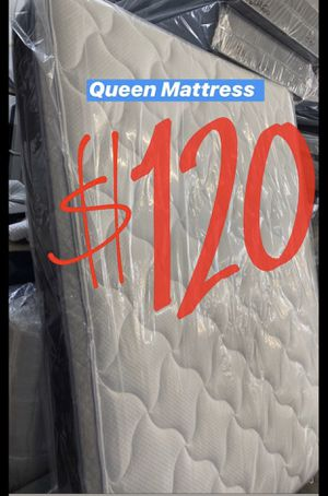 BRAND NEW PILLOW TOP MATTRESSES💯 Queen $120 ❌ $180 With Box Spring FULL SIZE $100 ❌ $150 With Box Spring Twin $80 ❌ $120 With Box Spring for Sale in Los Angeles, CA
