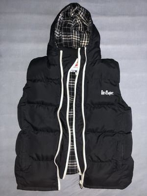 Lee Cooper 2 Zip Gilet Mens Black (S) for Sale in Los Angeles, CA