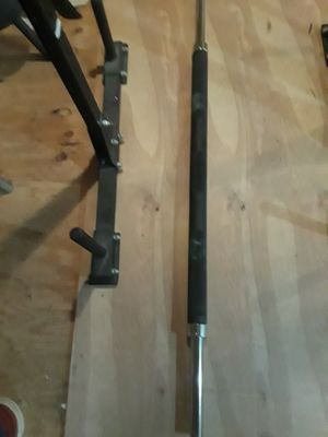Olympic style fat bar for Sale in Douglasville, GA