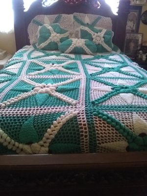 Hand made blanket more colors available serious buyer only for Sale in Willows, CA