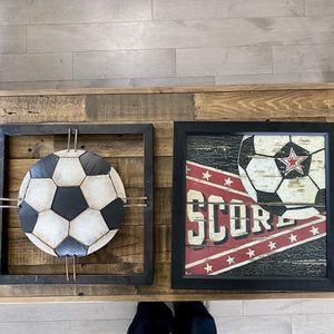 2 Box Framed Soccer Art for Sale in OH, US