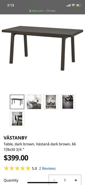 Solid dinning table for Sale in Washington, DC