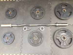 Olympic Weights and Barbell for Sale in Downey, CA