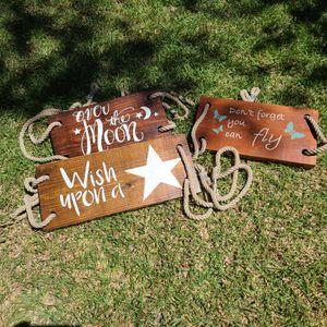 Handmade tree swing for Sale in Sun City, TX