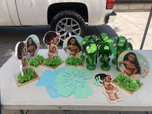 Moana center pieces for Sale in Bloomington, CA