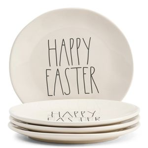Rae Dunn 4 Piece Happy Easter Plates for Sale in Belton, MO
