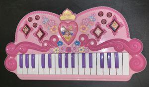 Disney Princess Keyboard/Piano for Sale in Shirley, NY