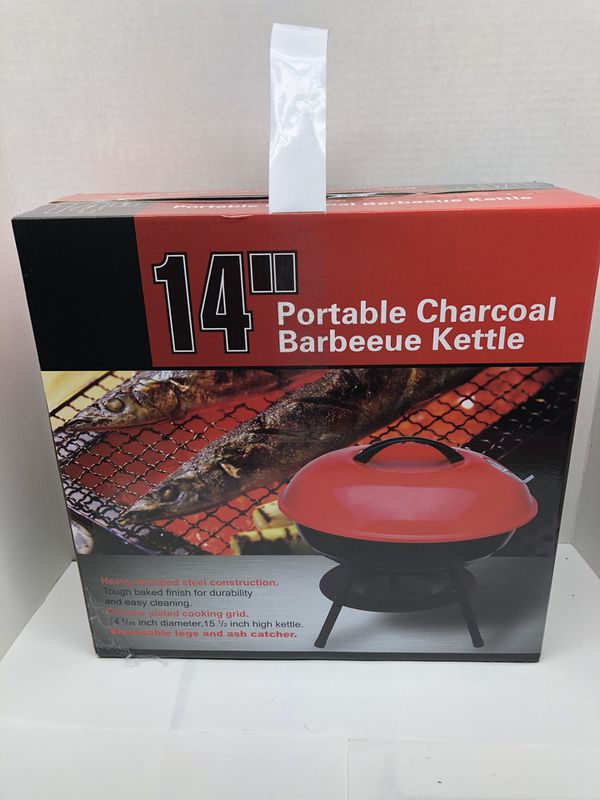 14 inch charcoal grill BBQ