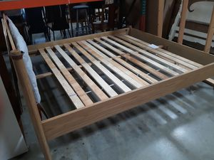 QUEEN BED FRAME WITH HEADBOARD for Sale in Riverside, CA