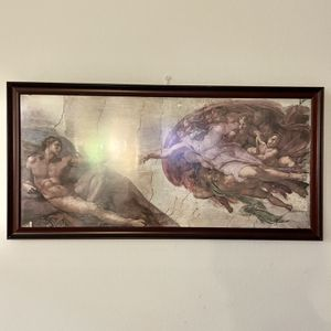 One Of My Trip-deck Creation Of Adam (Photography Art Piece) for Sale in Los Angeles, CA