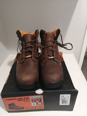 Brand new Timberland pro helix 6 work boots for men. Size 7.5. Titan Safety toe. Antifatige for Sale in Riverside, CA