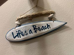 """Life's a Beach"" Room/Bathroom Decor for Sale in Orlando, FL"