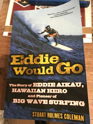 Used book Eddie Would Go. Minor Food stain for Sale in Westminster, CA