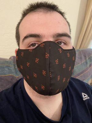 Premium cotton double side fashionable washable face mask for Sale in Titusville, FL