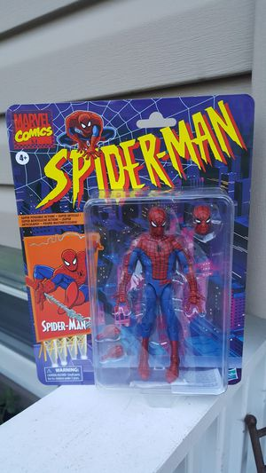 Marvel Legends Spiderman (animated series) collectible action figure for Sale in Hanover Park, IL