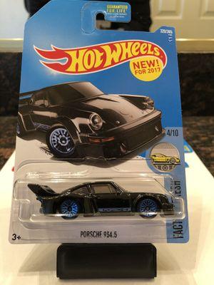 Hot Wheels Porsche 934.5 Black for Sale in Las Vegas, NV