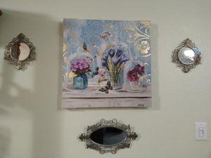 Home decor wall art frame and antiques mirrors for Sale in Katy, TX