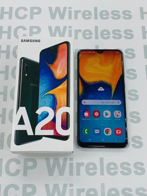 Samsung Galaxy A20 Unlocked! We are a Store! We give warranty! for Sale in Houston, TX
