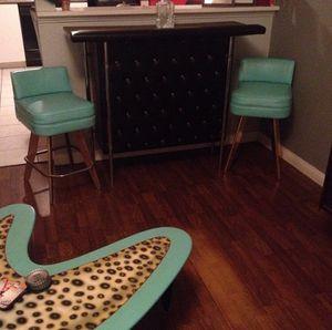 Teal bar stools only for Sale in Crestline, CA