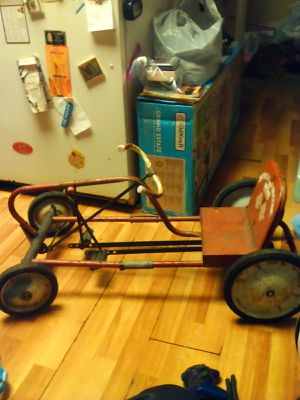 Scat AMF car Junior pedal car vintage collectible metal Steel for Sale in Hawthorne, CA