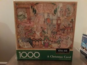 Springbok puzzle-a Christmas Carol for Sale in Schaumburg, IL