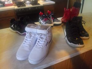 Lot of Mens Sneakers (Nike, Reebok, & Fila) for Sale in Milwaukee, WI