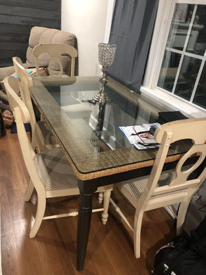 Table with 4 chairs for Sale in Winston-Salem, NC