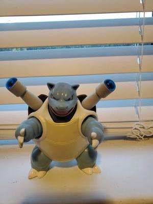 Pokemon 2007 jakks Blastoise for Sale in Houston, TX