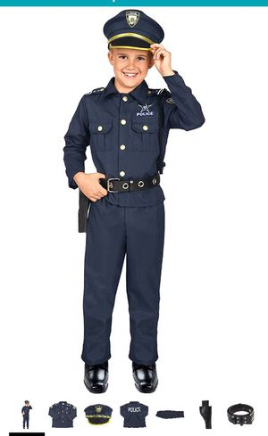 Police dress up outfit and accessories for Sale in Salem, SD