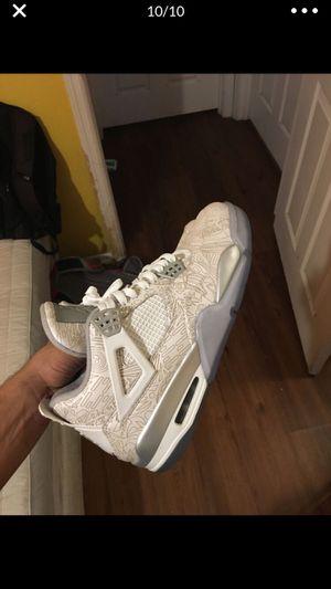 """Jordan Retro 4 """"Laser """" Size 9.5 for Sale in Orlando, FL"""